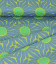 chartreuse daisy folds