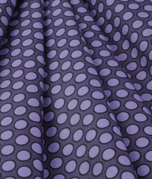 walkabout spots lilac folded makower uk