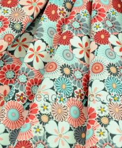Salura Large Flower Makower folded