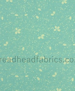 makower uk sakura petal turquoise