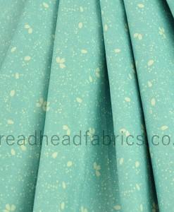 makower sakura  petal turquoise folded