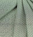 sakura geometric black folded