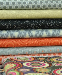 assorted walkbout fabrics