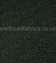 walkabout spiral on black makower