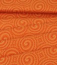 walkabout spirals in orange folded