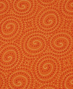 makower walkabout spirals orange