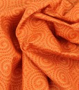 walkabout spirals in orange swirled