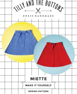 tilly miette skirt packaging