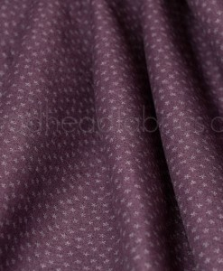 folded itsy bits plum by andover