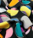 michael miller paint lids black swirled
