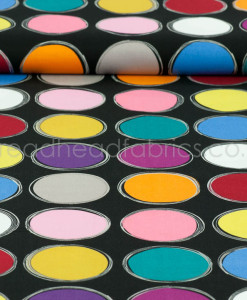 Paint Lids on Black Michael Miller