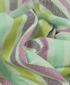 swirled sketchy stripe in violet