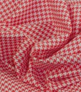 michael miller tiny houndstooth paprika swirled