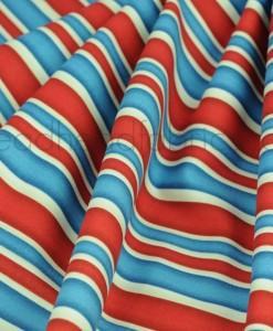 red white blue stripes folded