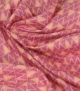 walkabout zigzag on pink swirled