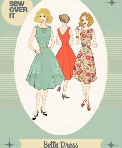 sew over it betty dress pattern