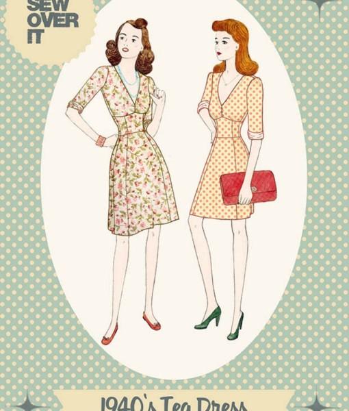 Tea Dress Front