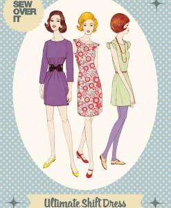 ultimate shift dress pattern