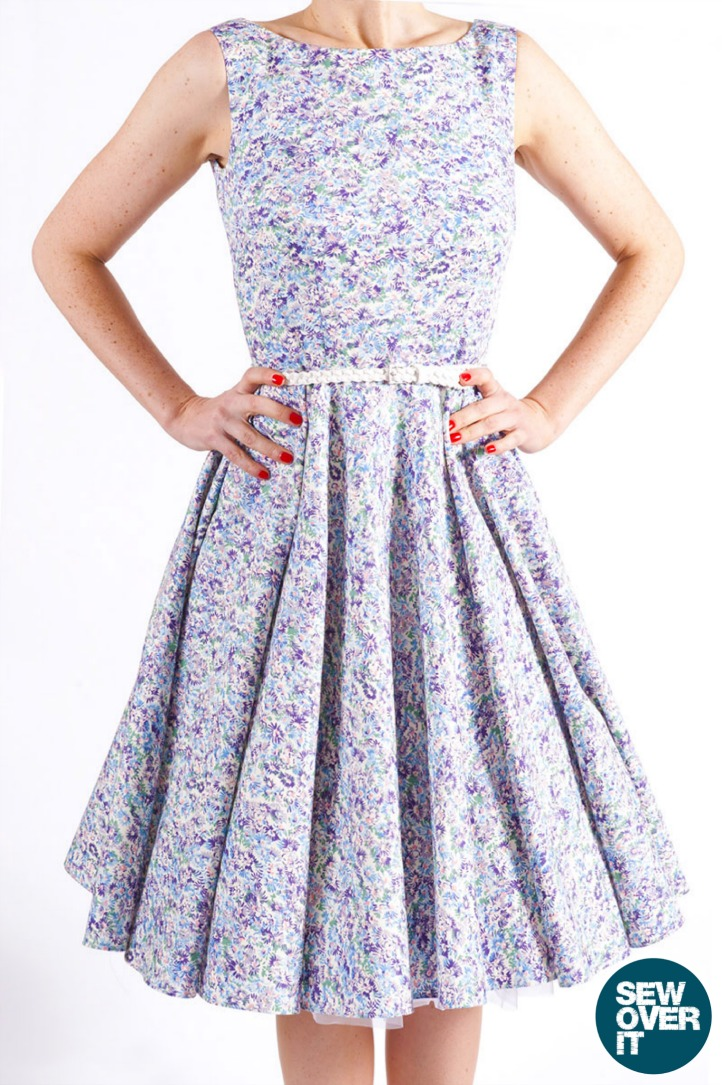 Sew Over It Betty Dress Pattern - Beautiful Retro Style