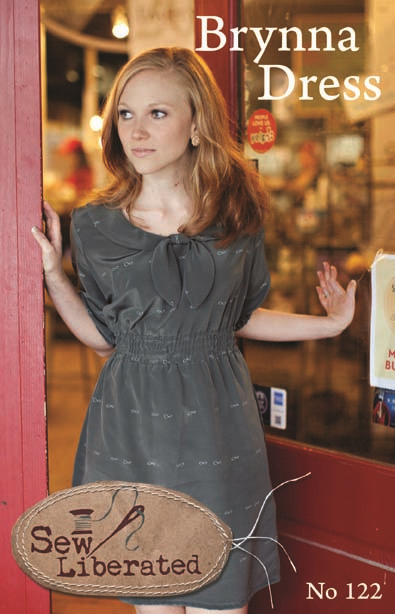 Sew Liberated Brynna Dress Pattern - Lovely in Sizes 2 to 20