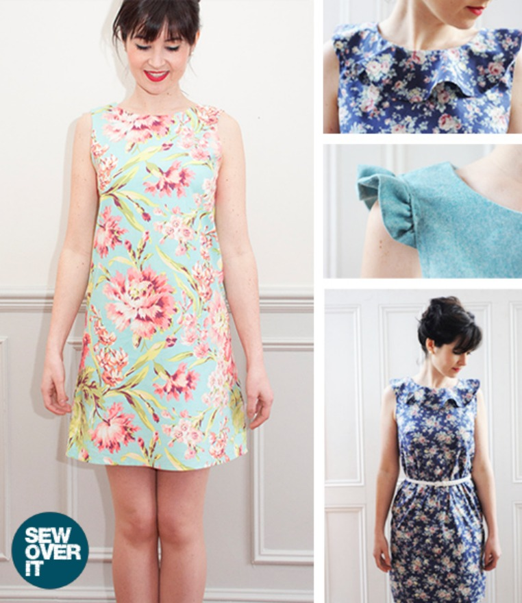Sew Over it Ultimate Shift Dress Pattern - Gorgeous!