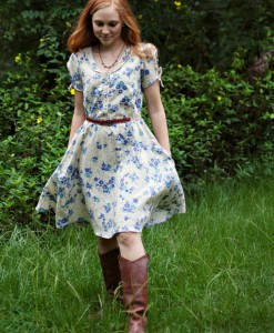 clara dress pattern by sew liberated