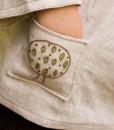woodlands shirt pocket detail