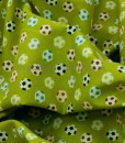 little monsters olive footballs swirled