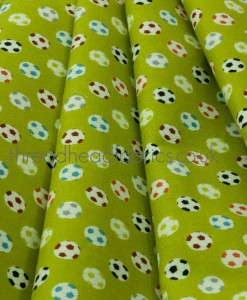 little monster footballs folded