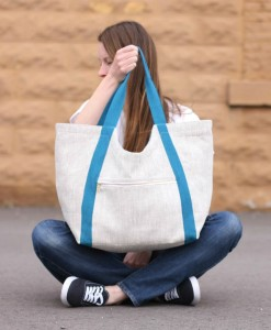 noodlehead poolside tote bag pattern