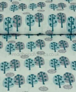 banksia trees organic cotton saffron craig
