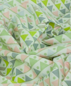 triangles organic cotton by saffron craig