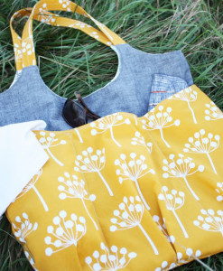 noodlehead patterns go anywhere tote bag