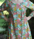 paloma dress in viscose voile