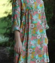 paloma pattern dress in viscose voile