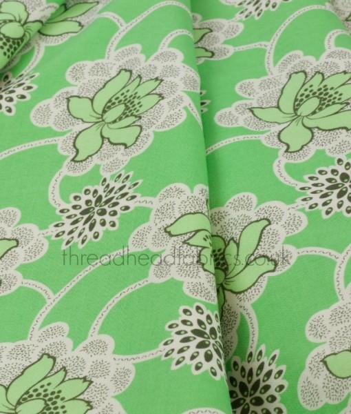 clematis from daisy chain rowan fabrics