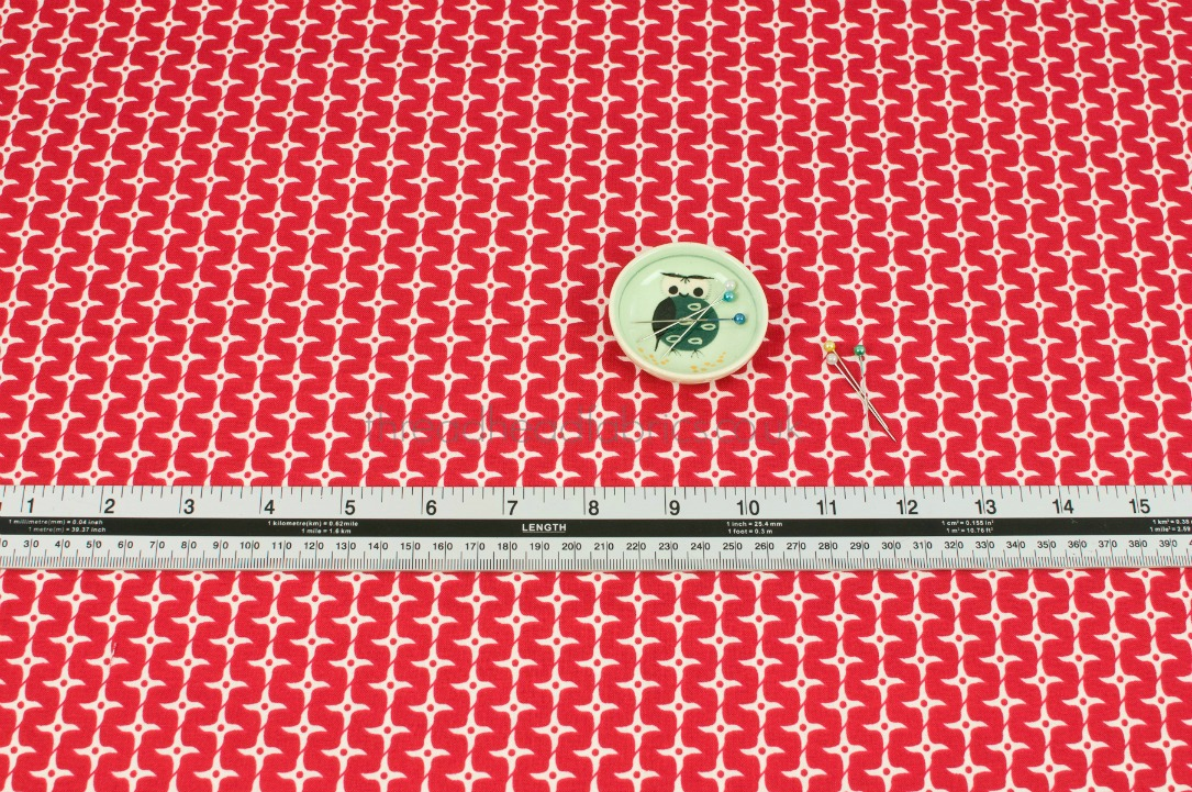 Ninja Star Red From Year Of The Ninja By Riley Blake Designs
