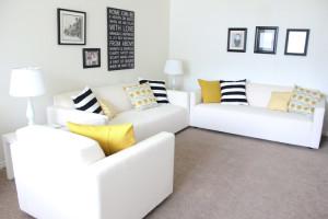 Delia Creates Enveleope Cushion Covers Tutorial