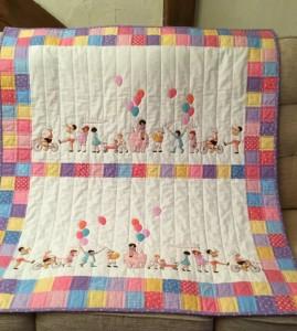 On Parade Children's Quilt