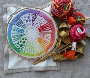 dropcloth sampler colour wheel