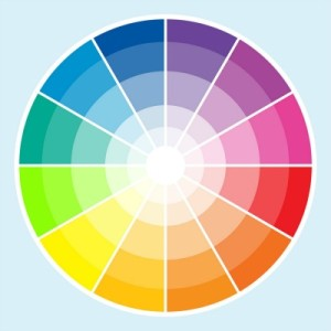 colour wheel used for choosing fabrics