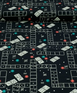 Domino Effect Double Border Quilting Fabric