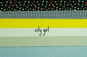 city girl fabric bundle