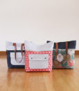 caravan tote bag trio by noodlehead