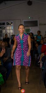 ankara dress by Ghislaine Gzon