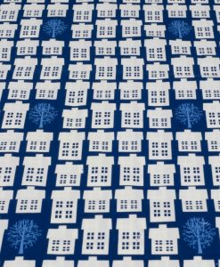 copenhagen print factory in blue