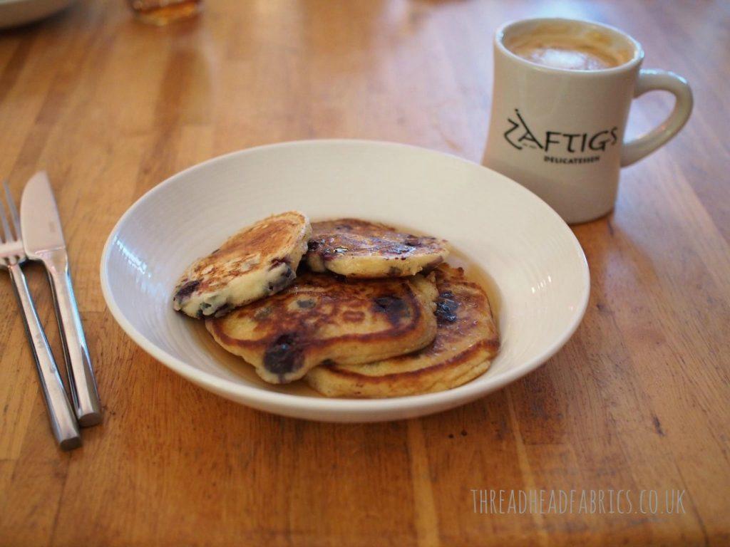 american style blueberry pancakes recipe