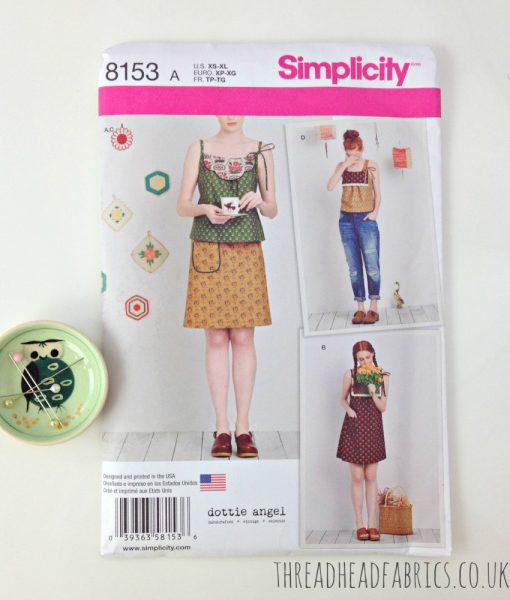 Dottie Angel 8153 Simplicity Thread Head Fabrics
