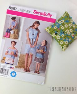 Thread Head Fabrics Simplicity Pattern 8087