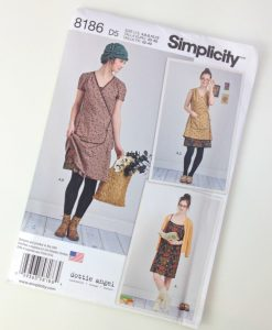 Dottie Angel Wrap Dress Pattern Simplicity